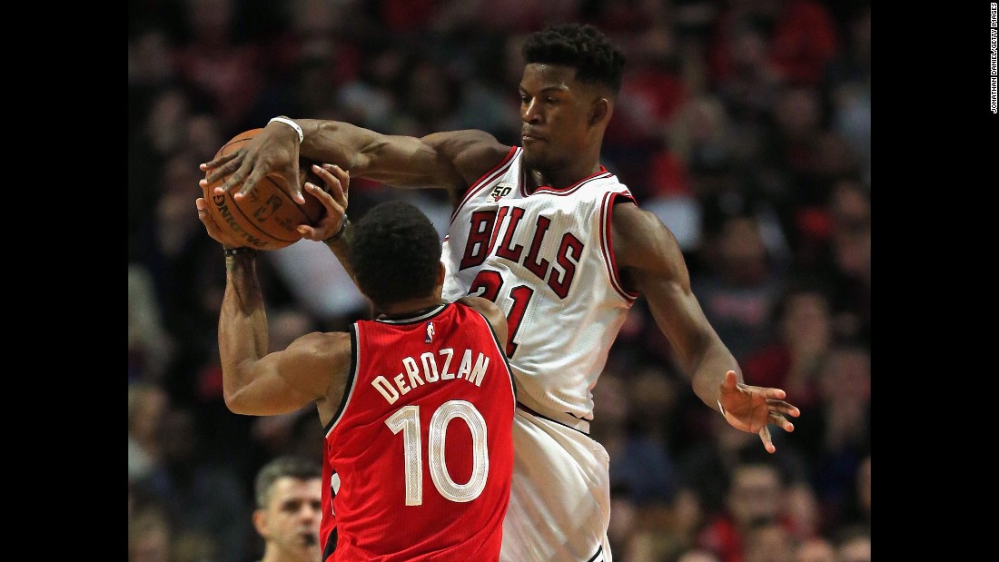Jimmy Butler has blossomed into one of the league's best players since Chicago took him 30th overall in 2011. He's made the All-Star team the last three seasons and become one of the league's best defensive players.
