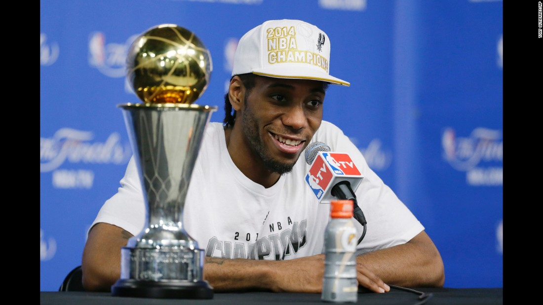 Kawhi Leonard was taken 15th overall in 2011. Indiana traded him to San Antonio on draft night, and he's become yet another steal for the Spurs. He was MVP of the NBA Finals in 2014, and he's made the last two All-Star teams.