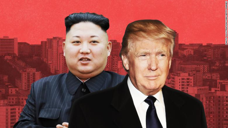 The rapidly evolving state of US-North Korea relations, in two photos