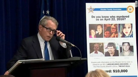 Ohio Attorney General Mike DeWine said last month he was confident the case will be solved.