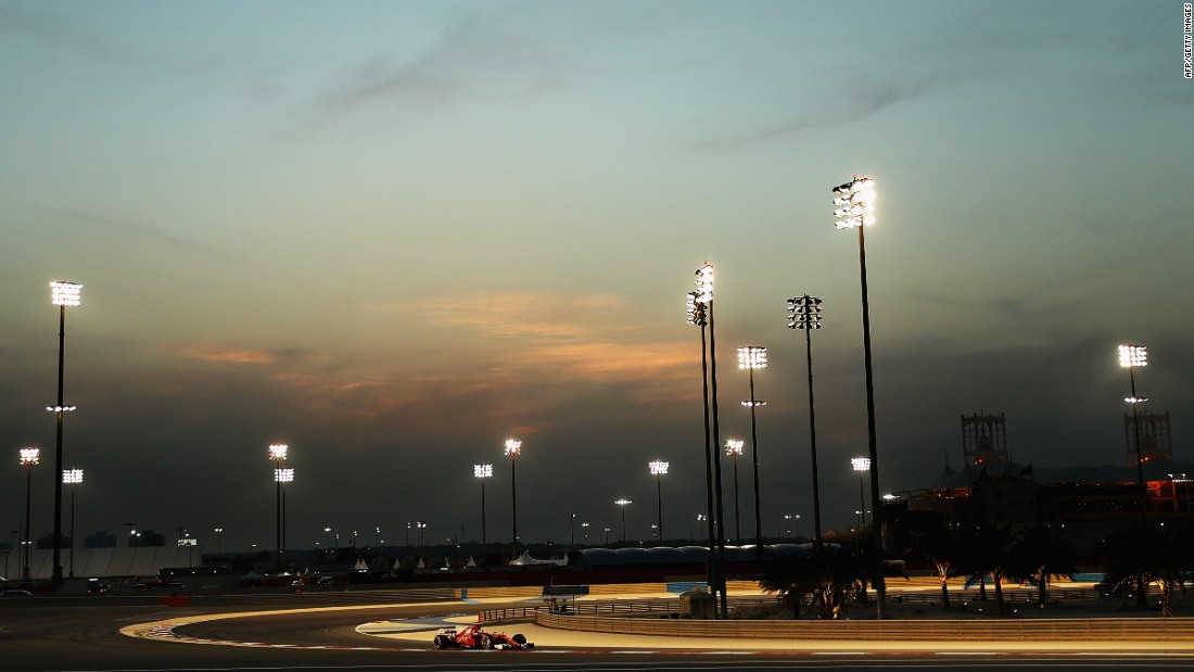 The Bahrain International Circuit has been on the F1 calendar since 2004. The race has been held under floodlights since 2014.