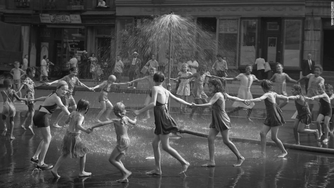 Todd Webb's post-war New York
