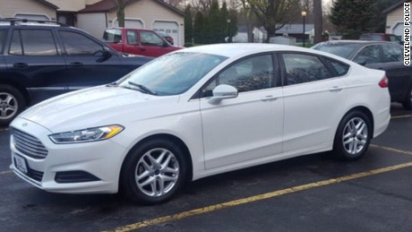 Cleveland Police said homicide suspect Steve Stephens was last seen driving a new model Ford Fusion.