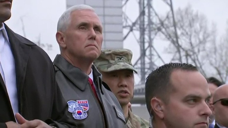 mike pence visits dmz hancocks live_00005028