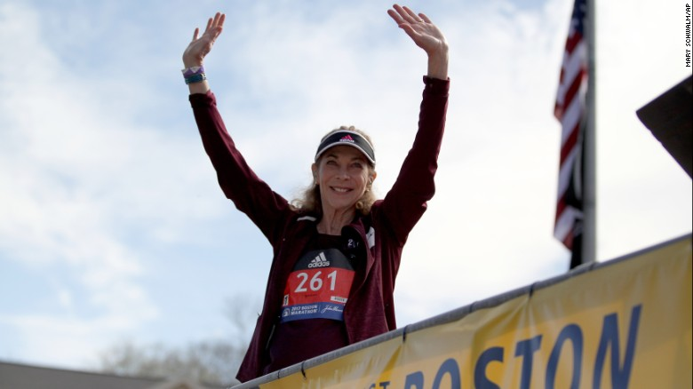 Kathrine Switzer reflects on historic run