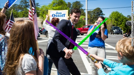 Democrat Jon Ossoff is running in the special election primary to replace Health and Human Services Secretary Tom Price in Georgia's 6th district.