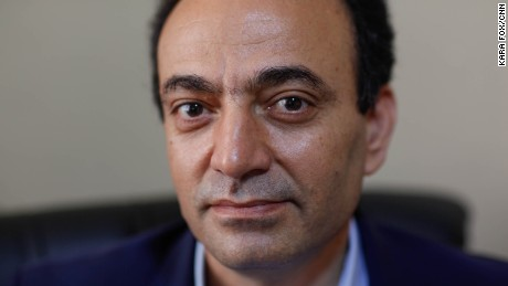 Osman Baydemir, HDP spokesperson and MP at the party headquarters in Ankara on Monday.
