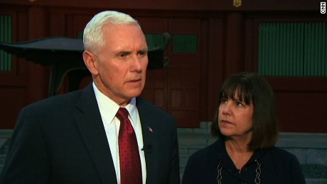 Pence: Glad North Korea is listening