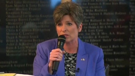 In town hall, Joni Ernst gets an earful from constituents scared about health care