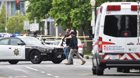 Fresno shooting: Rampage started with slaying last week, police say