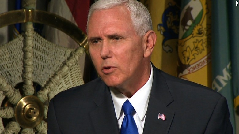 Pence: I don't see talks with N. Korea now