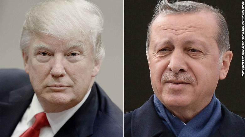 Trump, Erdogan to meet over Syrian policy