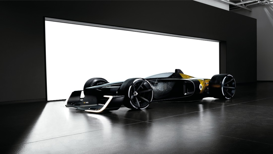 Sustainable materials and technologies used in the car's construction aim to improve F1's carbon footprint.