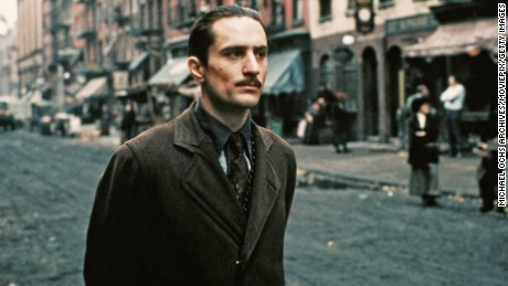 Robert De Niro as the young Vito Corleone in 'The Godfather Part II'