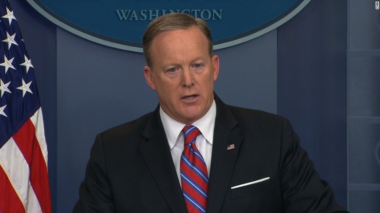 Spicer grilled on USS Carl Vinson confusion
