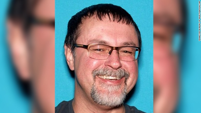"This undated photo released by the Tennessee Bureau of Investigations shows Tad Cummins in Tennessee.   Tennessee authorities say there's been a confirmed sighting of Elizabeth Thomas, a 15-year-old girl who disappeared more than two weeks ago with Cummins, her 50-year-old teacher.   The Tennessee Bureau of Investigation said it remains ""extremely concerned"" about the well-being of Elizabeth Thomas, who was last seen Monday, March 13, 2017, in Columbia, Tenn. Cummins was placed on the TBI's Top 10 Most Wanted List. (Tennessee Bureau of Investigations via AP)"