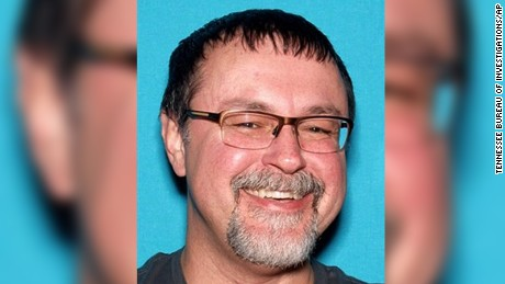 This undated photo released by the Tennessee Bureau of Investigations shows Tad Cummins in Tennessee.   Tennessee authorities say there's been a confirmed sighting of Elizabeth Thomas, a 15-year-old girl who disappeared more than two weeks ago with Cummins, her 50-year-old teacher.   The Tennessee Bureau of Investigation said it remains