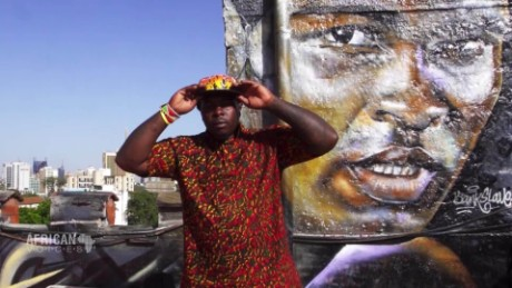 African Voices The founding father of Kenyan graffiti art A_00040423