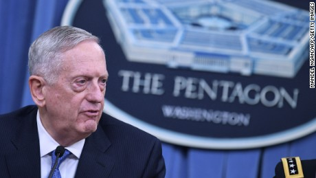 Mattis: Budget stopgap will significantly harm military