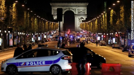 Paris attack witness: 'I hid in a corner'