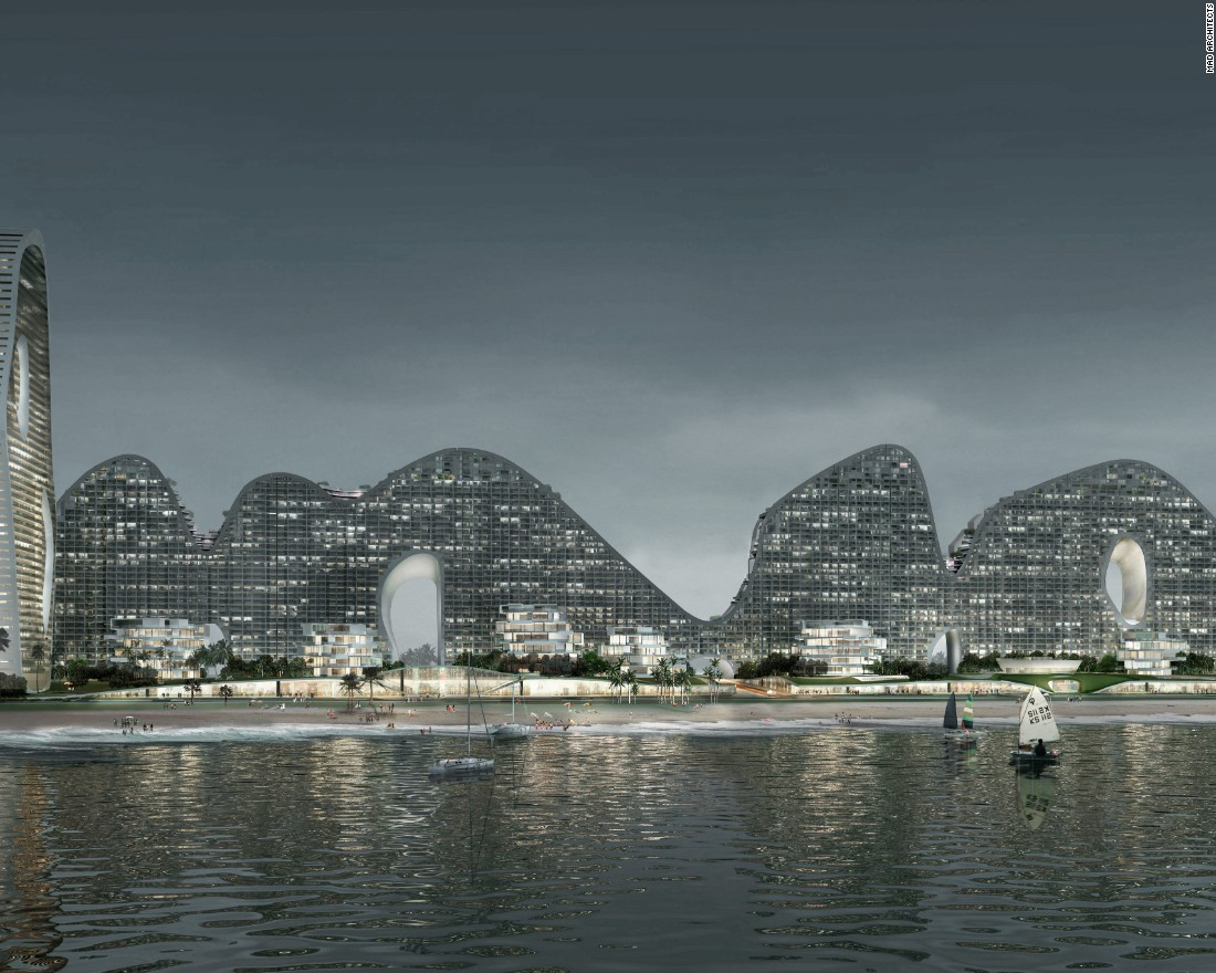 The architect banishing straight lines from China's cities