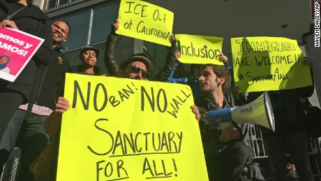 Judge blocks part of Trump's sanctuary cities executive order