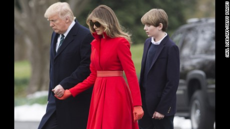 Melania Trump is most famous member in Trump family, Poll says