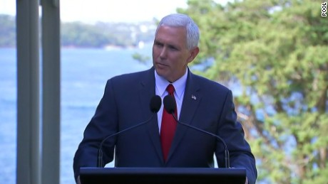 Trump calls deal dumb, VP promises to honor it