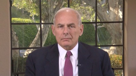 Secretary of Homeland Security John F. Kelly