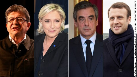 Le Pen faces Macron in final round of presidential election