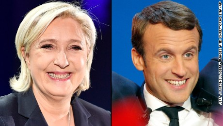 Head to head: How Le Pen and Macron compare