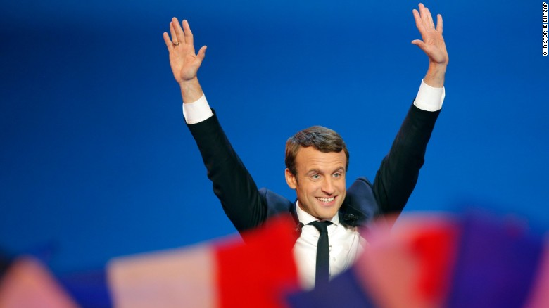 Macron is leading a 'democratic revolution'