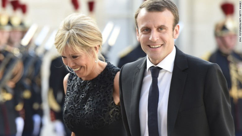 Inside Macron's unconventional love story