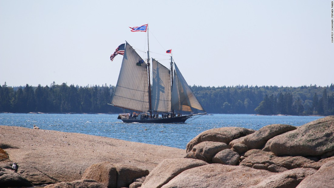 <strong>Schooner Stephen Taber, Rockland, Maine: </strong>While there are plenty of places to stay along the Maine coast, the Schooner Stephen Taber offers a different view: seafaring adventures from three to six nights without a set itinerary. The weather and the tides help decide your schedule.