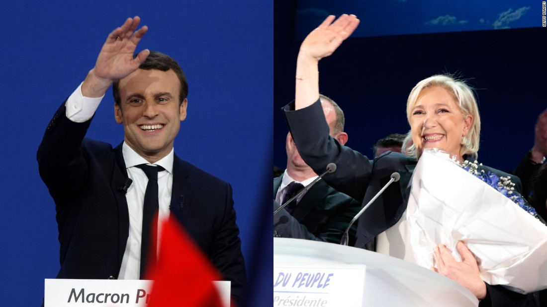 France's election is ending in a verbal cage fight