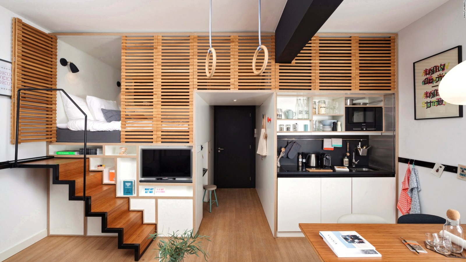 Think Big: Ingenious Micro Homes From Around The World   CNN Style