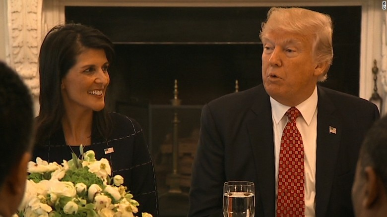 Image result for trump and nikki