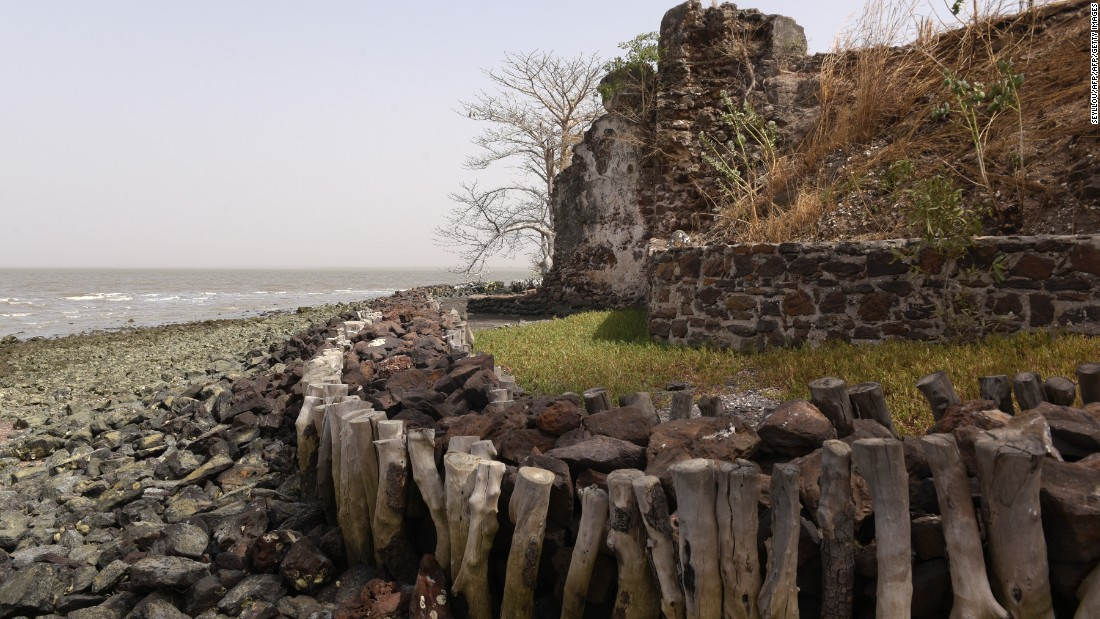 Coastal erosion is also a major threat. By some estimates, one-sixth of the island has been reclaimed by the sea, including parts of historic buildings.