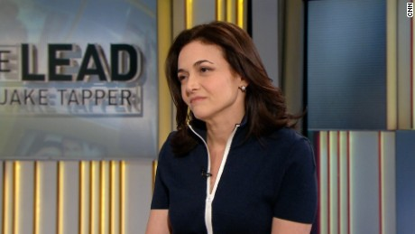 Sandberg opens up about husband's death (full)