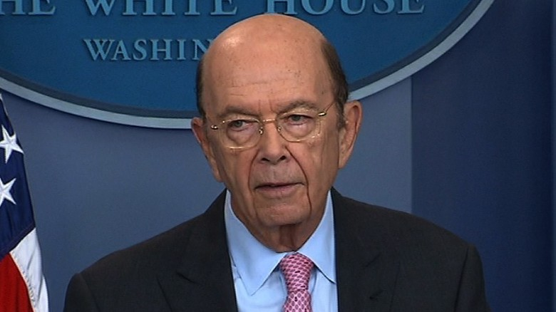 Wilbur Ross: US airstrike in Syria 'was in lieu of after-dinner ...