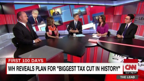 political panel discusses trump's tax cut plan the lead_00000000
