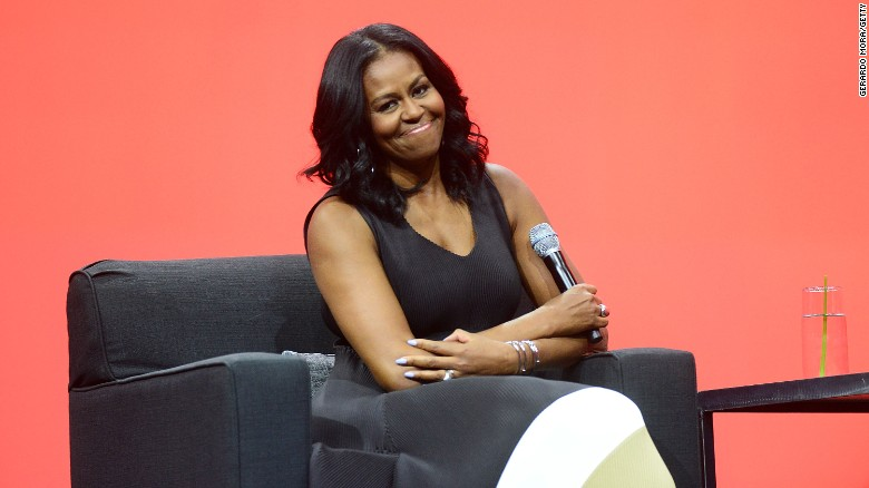 Michelle Obama's message for women voters