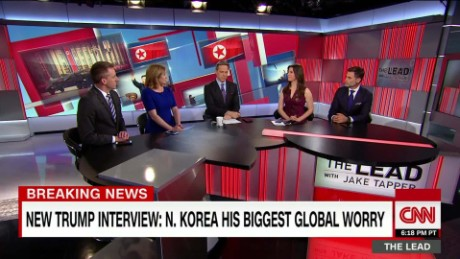 panel discuss trump comments on north korea conflict the lead _00013027