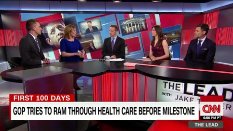 panel discusses GOP push for health care plan the lead _00013420