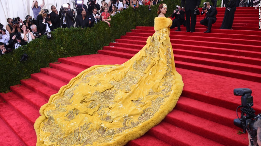 The Met Gala red carpet throughout the ages Style
