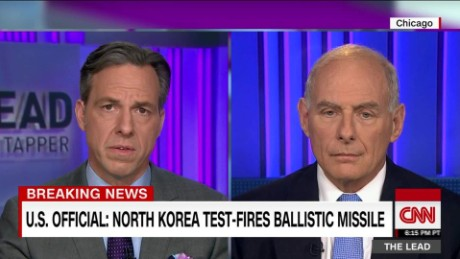DHS Chief Kelly on n. korea nuclear capabilities the lead _00015718