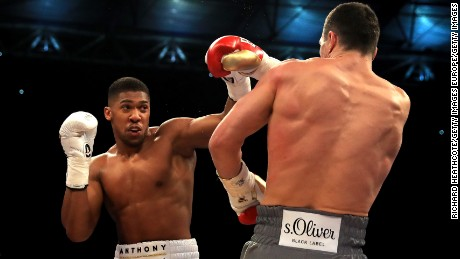Before fighting Klitschko, Joshua had never fought more than seven rounds in his professional career.