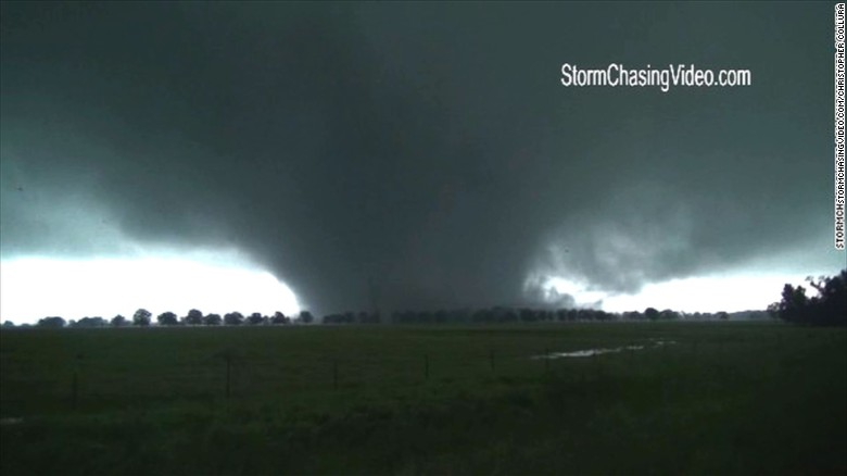 Dozens hospitalized after tornados hit Texas