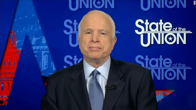 John McCain North Korea preemptive strike sotu_00000000