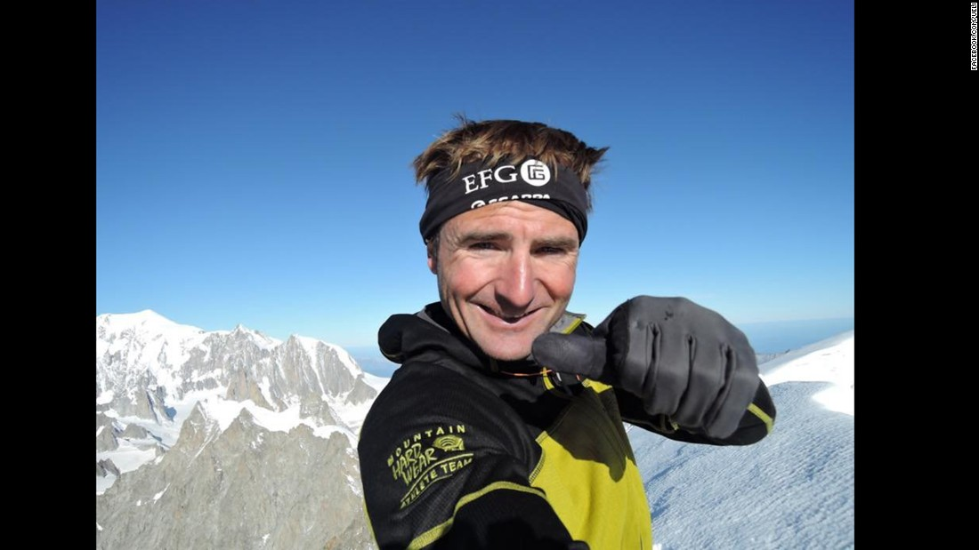 Swiss climber Ueli Steck was killed Sunday in an accident near Mount Everest, Nepal's tourism department said. The 40-year-old died when he slipped from a slope and fell into a crevasse at around 6,600 meters on Mount Nuptse, expedition organizers said.